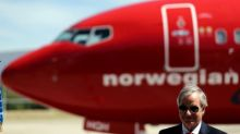 Norwegian Air's July passenger income lags forecast, shares drop
