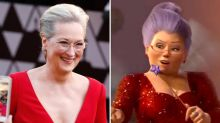 Oscars 2018: Meryl Streep fans in hysterics as she channels Shrek fairy godmother