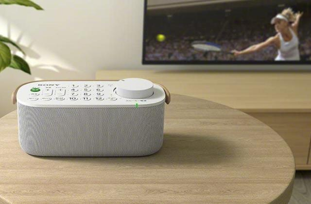 Sony's new TV remote doubles as a portable speaker
