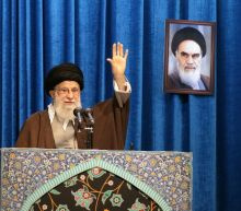 Iran's Khamenei stands by Guards after unrest over downed plane