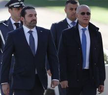 "The Latest: Triumphant Hariri declares ""Lebanon First!"""