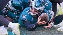 1-win Giants, Eagles slated for strangely high-stakes game on Yahoo Sports app