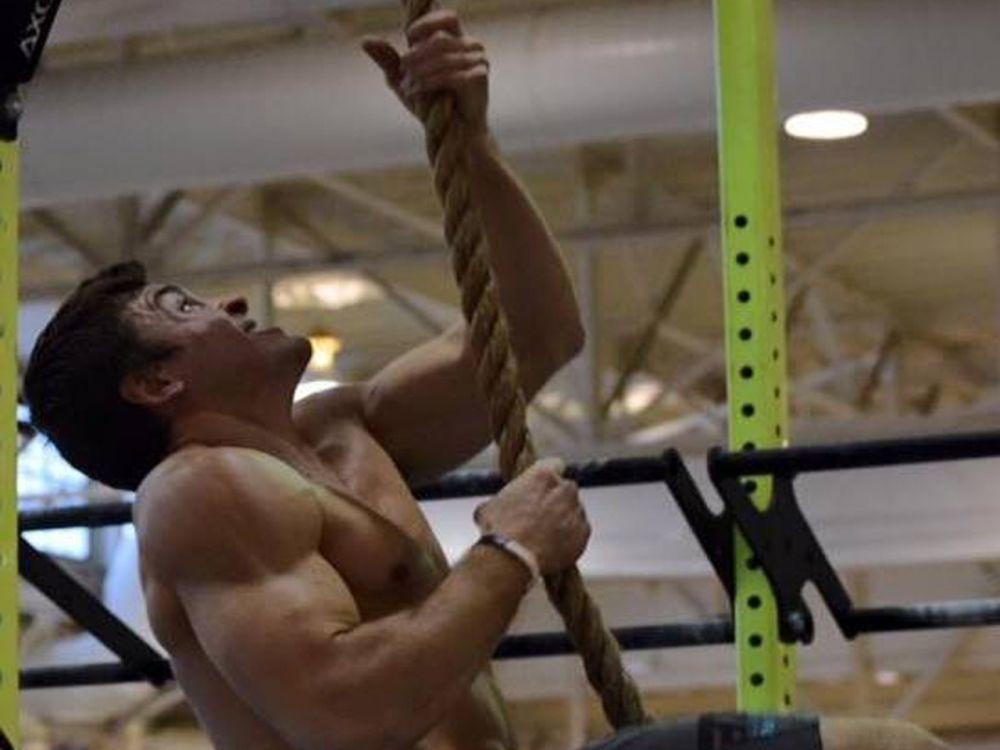 """Platz 8 der Männer: """"Nur die Harten kommen in den Garten"""": Nach diesem Motto trainieren die CrossFit-Sportler bereits Wochen vor den entscheidenden CrossFit Games – so auch der US-Amerikaner Streat Hoerner. (Bild-Copyright: Streat Hoerner/Facebook)"""