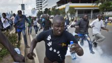 Violent clashes in Kenya over election body protests