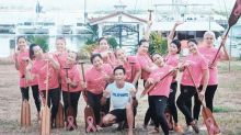 Pink Paddlers share stories of hope