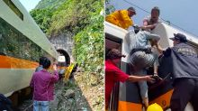 At least 48 killed, 66 injured after train derails