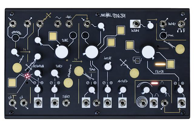 Strega is a compact modular synth for crafting dreamscapes or hellscapes