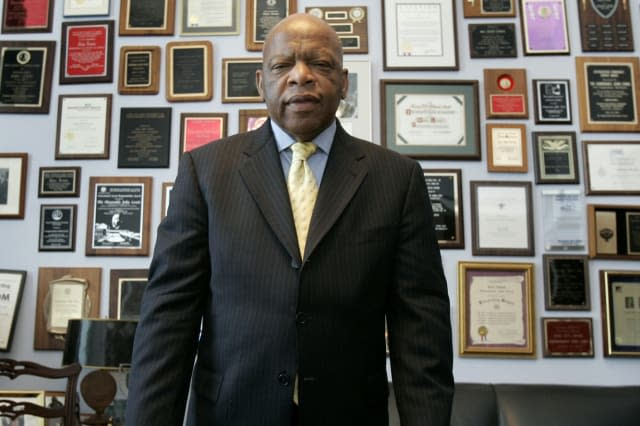 Civil rights icon John Lewis dies aged 80