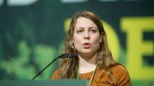 Stellvertretende Grünen-Vorsitzende in S-Bahn bedroht
