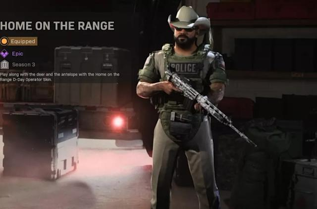 Infinity Ward tries to make its 'Call of Duty' Border War skin less offensive