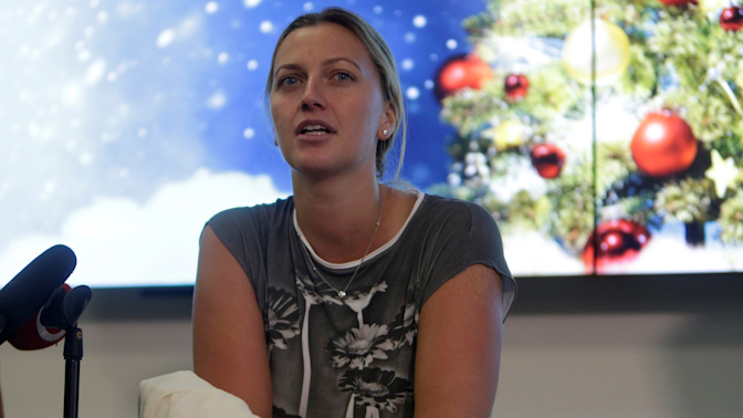 Petra Kvitova 'on track' for Wimbledon after December knife attack