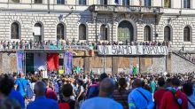 Rome: un millier de manifestants anti-vaccin et anti-masque