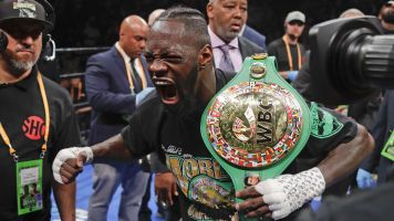Wilder backs up talk with epic first-round KO