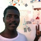 Migrants' drawings depict their nightmares and best memories