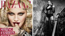 Madonna se convierte en una sensual vampiresa para 'Harper's Bazaar'