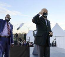 The Latest: 3 new Dem senators to be sworn in after Biden
