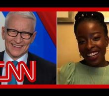 Poet Amanda Gorman leaves CNN's Anderson Cooper 'transfixed' by her personal mantra