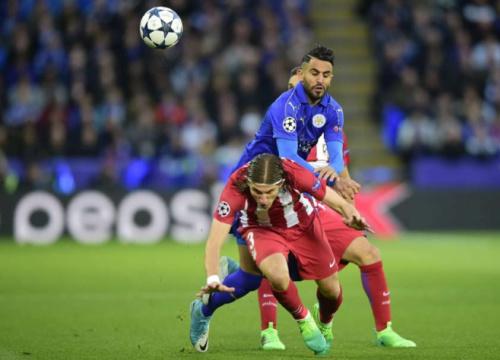 Filipe Luís sofre fratura na mão no empate do Atlético com o Leicester