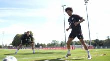 Sané treina pela primeira vez no Bayern de Munique