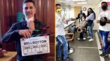 Lights, Camera, Mask On, Action: 'Bell Bottom' Team Begins Shoot