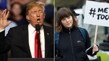 Chrissy Teigen brands Donald Trump a 'dipsh*t' after he mocks the #MeToo movement