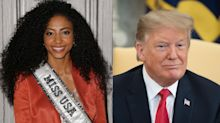 Miss USA 'not sure' she would compete in Trump-owned pageant