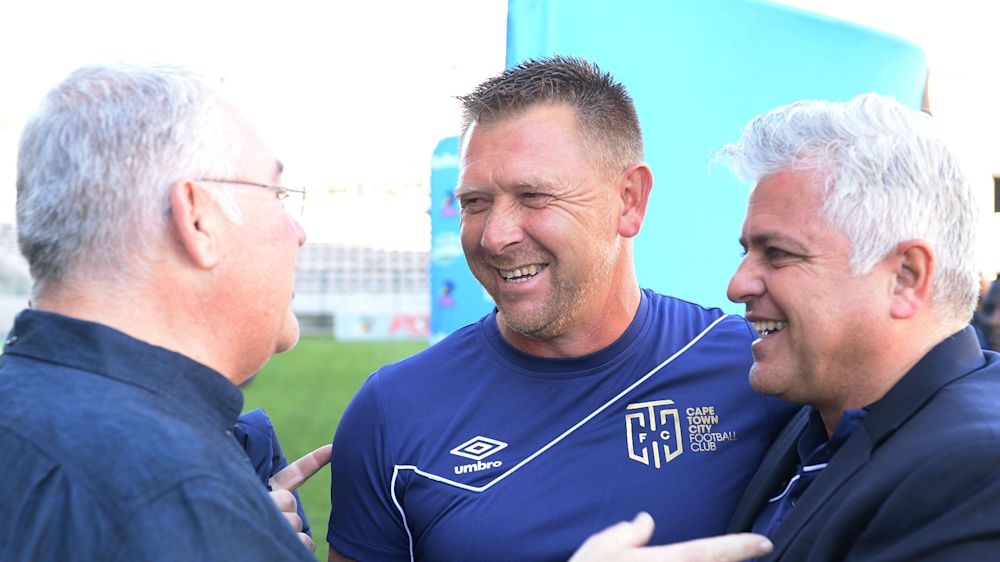 OFFICIAL: Tinkler resigns as Cape Town City head coach