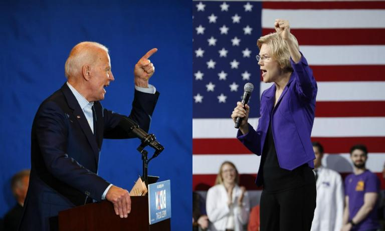 "Elizabeth Warren has criticised Joe Biden for hosting ""fancy private fundraising events"" and courting ""big donors"" — despite meeting with many of the same top Democratic fundraisers throughout her 2018 re-election campaign. The 2020 hopeful has pointed to Mr Biden's private fundraising events as an apparent difference between her campaign and that of the former vice president, who maintains a frontrunner status in the ever-growing pool of Democratic presidential candidates.""Our democracy is not for sale, and neither is my time,"" Ms Warren wrote to her supporters in an email requesting donations. Other messages have lambasted Mr Biden for hosting ""fancy private fundraising events where only big donors are invited"" and noting he attended ""a swanky private fund-raiser for wealthy donors at the home of the guy who runs Comcast's lobbying shop."" While the Massachusetts senator may be avoiding private fundraising events as she attempts to portray herself as a grassroots option to Mr Biden's candidacy, Ms Warren received top-dollar donations from wealthy donors at events benefiting her 2018 re-election campaign. Several of those donors are the same people Ms Warren has singled out Mr Biden for courting just a year later, with one going on-record to describe the senator's attacks against her opponent as ""preposterous."" ""I was pleased to support Senator Warren, I think she's a terrific senator, but I think it makes no sense for her to criticise Biden for taking checks at the maximum allowed,"" Kenneth Jarin, a law professor who hosted one of Mr Biden's recent events, told Philadelphia's The Inquirer. ""I know that she took lots and lots of $2,700 (£2,076) checks raising money for her Senate campaigns.""The Inquirer first reported the similarities between Ms Warren's 2018 campaign fundraising efforts and that of Mr Biden's 2020 campaign. The newspaper noted two additional hosts of recent fundraising events for the vice president, former Governor Ed Rendell and attorney Stephen Cozen, had also hosted a similar event for Ms Warren in March 2018.Each host contributed thousands of dollars to Ms Warren's Senate campaign. Mr Jarin said the senator accepted major fundraising dollars at a 2017 event held at the Rittenhouse Hotel by a top political donor, Peter Buttenwieser.She's also transferred the remaining dollars from her Senate campaign account to that of her presidential bid, adding over $10m (£7.7m) to her coffers.Alan Kessler, an attorney who has attended both politician's fundraising events in the past, told the Inquirer, ""Anybody that's criticising the Biden-type fund-raiser wouldn't turn down one if they were offered.""In response to the newspaper's report, Ms Warren's campaign spokesperson Chris Hayden said the senator has ""decided not to do any closed-door events with wealthy donors because special access for the wealthy and well-connected should not be how we choose the Democratic nominee for president.""""She believes that this primary is an opportunity to build the kind of grassroots movement that will win the general election and bring real structural change to our government,"" he added."