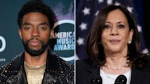 Chadwick Boseman's Final Tweet Before His Death Was in Support of Democratic VP Nominee Kamala Harris