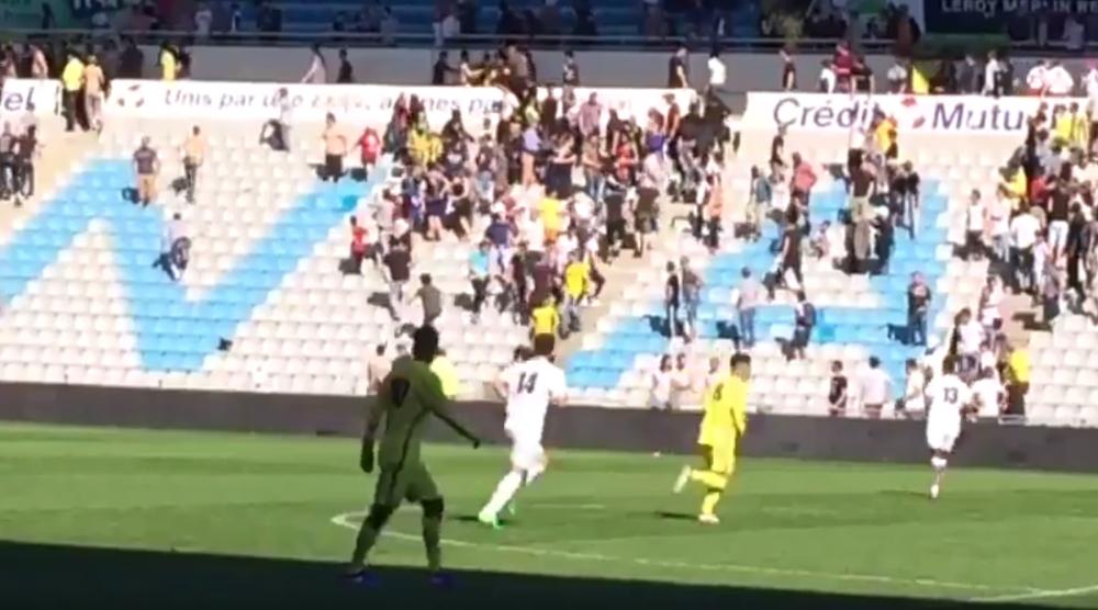 FC Nantes: de violents affrontements pendant le match de Gambardella, le club dépose plainte