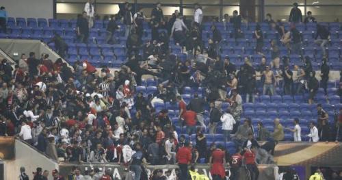 Foot - Ligue Europa - OL - Lyon-Besiktas : douze interpellations et sept blessés légers