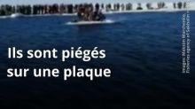 VIDEO. Russie: Les secours viennent en aide à 536 pêcheurs piégés sur un bout de banquise à la dérive