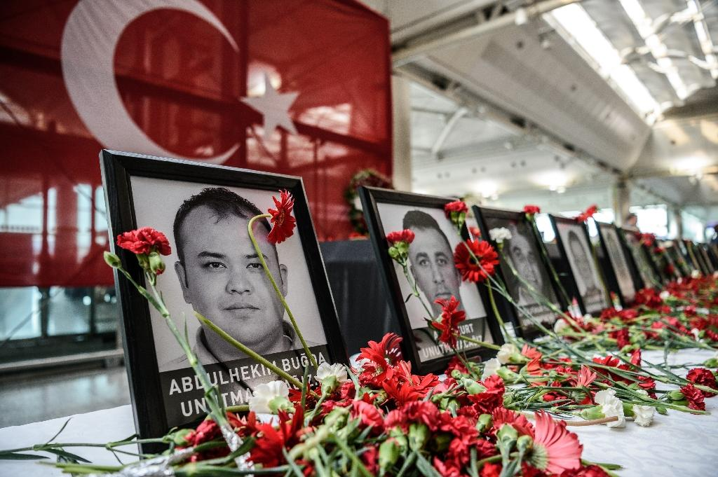 Some 46 people face terror charges over the suicide bombings at Istanbul's Ataturk Airport on June 30, 2016