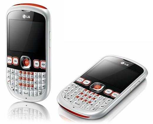 LG strolls into Town with C300 featurephone, offers portrait QWERTY for text addicts