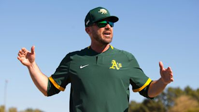 A's OF says coach's Nazi salute was unintentional