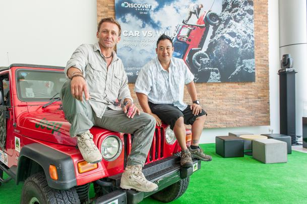 CAR VS WILD Experts On Navigating Flash Foods In Singapore Adapt - New car show on discovery channel