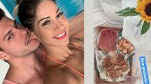 Separada, Mayra Cardi manda cesta de café da manhã para Arthur Aguiar
