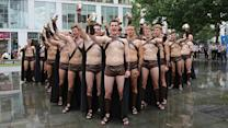 """300"" Themed Publicity Stunt Goes Wrong"