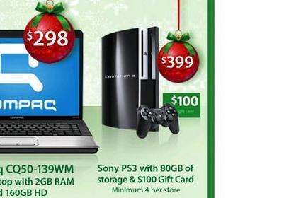 Deals: PS3 with $100 gift card, $20 Greatest Hits, Kill Bill Blu-ray
