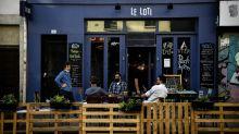 Makeshift patios take over Paris streets in virus summer