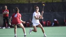 No. 9 Maryland women's lacrosse hangs on for 14-12 win over No. 23 Rutgers