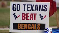 Texans fans looking forward, not back