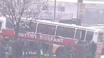 Suicide Bomber Attacks Afghan Army Bus
