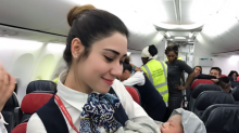 Woman Goes Into Labor at 42,000 Feet, Flight Crew Delivers Child