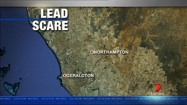 Lead scare in Northampton