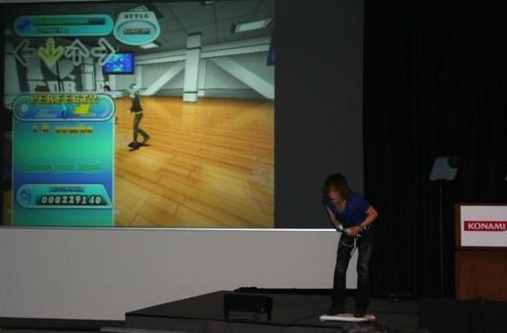 Wii's new Dance Dance Revolution is Balance Board-based, fitness-focused