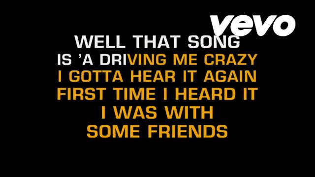 That Song Is Driving Me Crazy (Karaoke)