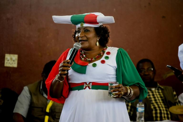 Esther Muinjangue is the first woman to run for president of Namibia (AFP Photo/HILDEGARD TITUS)