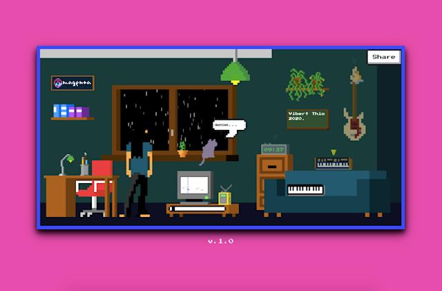 Google Magenta's Lo-Fi Player is an AI-based virtual music studio