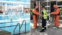 Sydney pool evacuated, three hospitalised after 'strong toxic smell' emerges